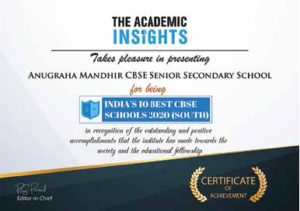 The academic insights certificate